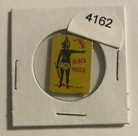 VINTAGE TIN LITHOGRAPHED TOBACCO TAG - BLACK MARIA - BLACK AMERICANA    #4162