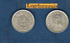 Suisse - 50 Centimes 1958 B en Argent Silver Silber - Switzerland Helvetia