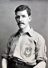 OLD SPORT PHOTO Football Circa 1896 John Bell A Forward Who Joined Everton