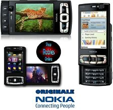 Nokia n95 8gb Black (Senza SIM-lock) WIFI 3g 5mp GPS MADE FINLAND COME NUOVO OVP