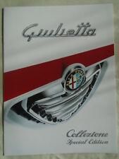 Alfa Romeo Giulietta Collezione brochure Jun 2013