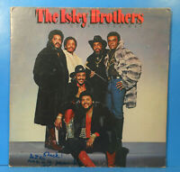 ISLEY BROTHERS GO ALL THE WAY LP '80 AUTOGRAPHED PROMO GREAT CONDITION! VG+/VG!!