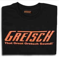 "Gretsch ""That Great Gretsch Sound"" T-Shirt Black, L"