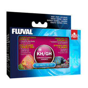 FLUVAL GH/KH  Test Kit Freshwater Saltwater  A7876   FREE SHIPPING
