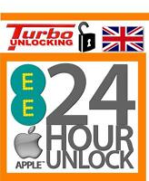 For UK Apple iPhone 6 6S Permanent Factory Unlocking Service For EE NEXT DAY