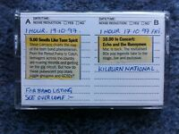 Pre-loved ECHO and the Bunnymen Audio Cassette Tape from Personal Collection.
