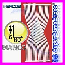 3S TERMOARREDO INTRECCIATO GEMINI ERCOS SCALDASALVIETTE DESIGN 180 x 80 BIANCO
