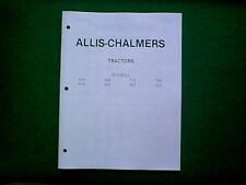allis chalmers outdoor power equipment manuals & guides ebay ford 861 wiring diagram allis chalmers 616 thru 919 tractor service manual