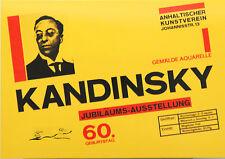 """Kunstpostkarte  Bauhaus - Herbert Bayer : Ausstellungsplakat """"Kandinsky"""""""