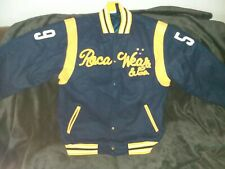 Rocawear 70% Wool/ 30% nylon Blend Varsity Style Jacket large Excellent +