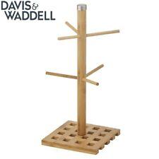 Davis & Waddell Lattice Coffee Mug/Cup Tree Rack Holder/Organiser Storage Brown