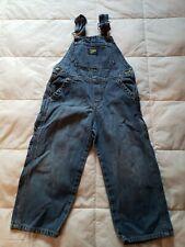 Vtg OshKosh B'gosh Vestbak Denim Overalls Jeans Toddler Size 3T