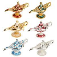 Aladdin Genie Wishing Lamp Legend Light Wish Pot Collectable Decor go