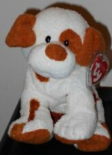 Ty Pluffies - PEPPY the Puppy Dog (9 Inch) MWMT - Stuffed Plush Toy