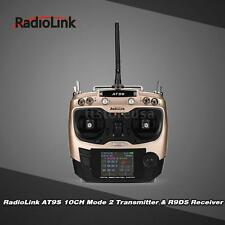 RadioLink AT9S 2.4G 10CH DSSS/FHSS Mode 2 RC Transmitter w/ 9CH Receiver M4E9