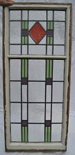 Art deco leaded light stained glass window panel. R723. WORLDWIDE DELIVERY!!!