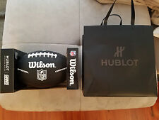 Hublot Wilson NY Giants Black Football Composite Official Victor Cruz Rare Colle