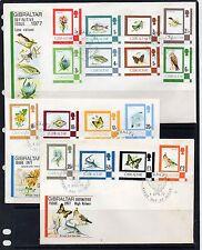 Gibraltar Flora y Fauna sobres primer día año 1977 (DE-463)