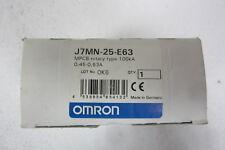OMRON J7MN-25-E63 INTERRUTTORE AUTOM. PROTEZIONE MOTORE (SALVAMOTORE) 0,45-0,63A