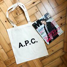 APC x Men's Non No Magazine Canvas Tote Bag in Supreme Condition