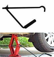 Automobile Car Foldable Durable Hand Scissor Jack Rocker Handle Repair Tools Kit