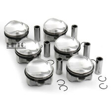 6x Pistons & Rings Set MAHLE OE Φ84.51mm For AUDI S4 S5 A6 A7 A8 Q5 Q7 3.0 TFSI