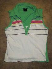 Super Cute! Anxiety Faux Layered Look Sleeveless Top L Large Shirt Runs Small