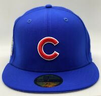 Chicago Cubs New Era NYC20 QT 2016 World Series Patch 59Fifty Wool Gray UV