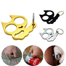 Stainless Steel Finger Ring Self Defence Tool Survival Camping Emergency Pocket