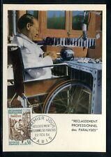 France - Carte Maximum 1964 - Paralysés