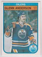 Glenn Anderson 1982/ '83 O-Pee-Chee #100 - Edmonton Oilers