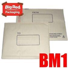 Bubble Mailer 160x230mm Padded Bag Envelope x 50 BM1