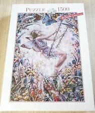 Blatz 1500 Piece Jigsaw Puzzle fantasy Flower Fairy Hard to Find