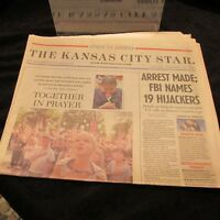 The Kansas City Star Attack on America September 15 2001 Together in Prayer