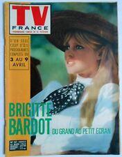 ►TV FRANCE 157/1965 - BRIGITTE BARDOT - ZIZI JEANMAIRE - RICHARD GREENE