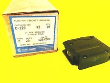 ***NEW*** CHALLENGER C120 20 AMP 1-POLE PLUG IN CIRCUIT BREAKER