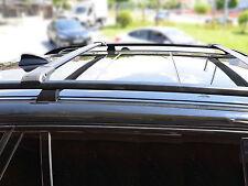 BMW x5 2007 - 2008 chiudibile a chiave Nero Cross Bar (3.0si - 4.8i)