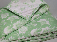 Pottery Barn Kids Multi Colors Birdie Birds Flower Floral Full Queen Quilt New