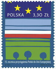 POLEN 2019 Stamp 15th anniversary of Poland's accession to the European Union(20