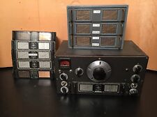 NATIONAL HRO HAM RADIO RECEIVER AND COILS WITH BOX WORKS 100% Rec Refurbished