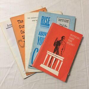 Christian Pamphlets / Booklets  Various Authors WV Grant Pardon Me, But Witness