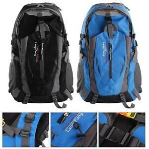 40L Comfortable Outdoor Waterproof Hiking Rucksack Camping Bag Travel Backpack