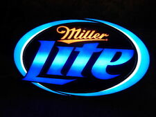 """Miller Lite Equity Logo LED Sign, 2014 """"New"""""""