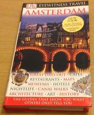 AMSTERDAM DK Eyewitness Travel Guide Book (Paperback) NEW