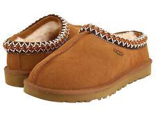 Women's Shoes UGG TASMAN Classic Suede & Sheepskin Slippers 5955 CHESTNUT
