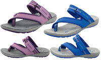 Women Ladies Strap Open Toe Loop Hiking Sandal Summer Casual Miami Leather Shoes