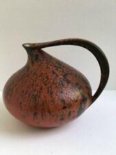 Kurt Tschörner Keramik Vase 'Vulcano '  Modell 313  Ruscha  60er design