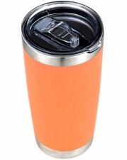 Stainless Steel Vacuum Insulated Tumbler with Lid Coral