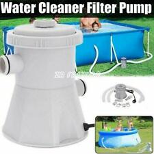 Electric Swimming Pool Filter Pump For Above Ground Pools Cleaning Tool US/UK/EU