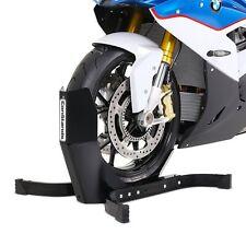 Motorradwippe Motorrad-Ständer Vorderrad Radklemme vorne matt Montageständer